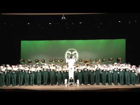 Colorado State University Marching Band: Funky Music