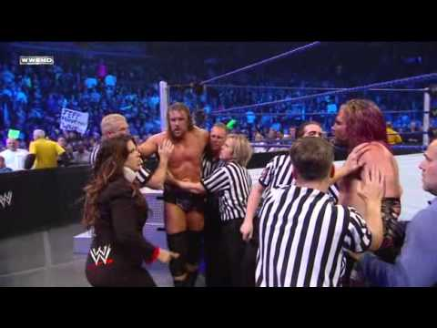 Triple H & Jeff Hardy Brawl