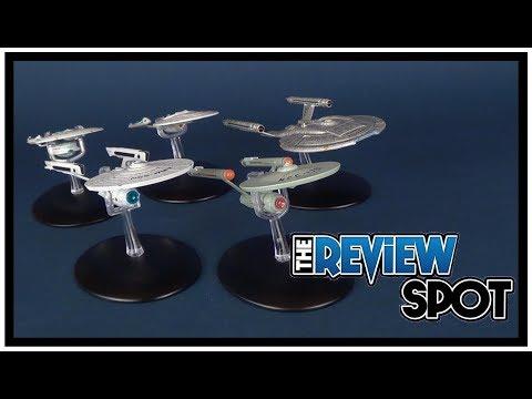 Collectible Spot | Eaglemoss Star Trek Starship Enterprise 4 Starship Set