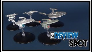 Collectible Spot | Eaglemoss Star Trek Starship Enterprise 4 Starship Set