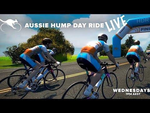 Lama Live: Zwift Aussie Hump Day Ride (Feb 19th 2020)