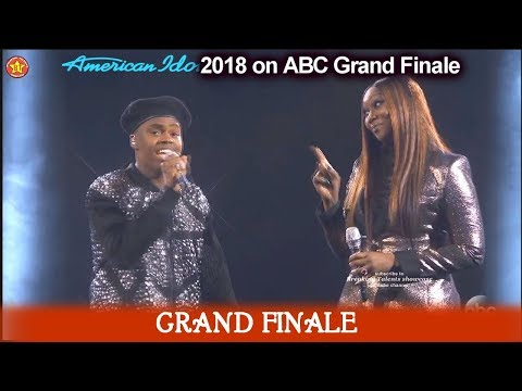 "Michael J. Woodard with Yolanda Adams  ""What The World Needs Now"" American Idol 2018  Grand Finale"