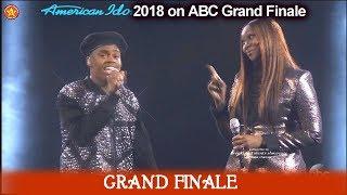 "Michael J. Woodard with Yolanda Adams  ""What The World Needs Now"" American Idol 2018  Grand Finale"