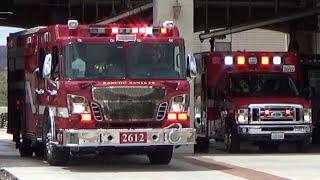Rancho Santa Fe E2612 & AMR M2692 Responding