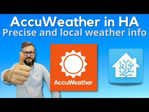 Home Assistant How To - get most out of AccuWeather integration