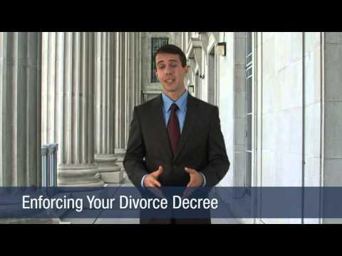 Enforcing Your Divorce Decree
