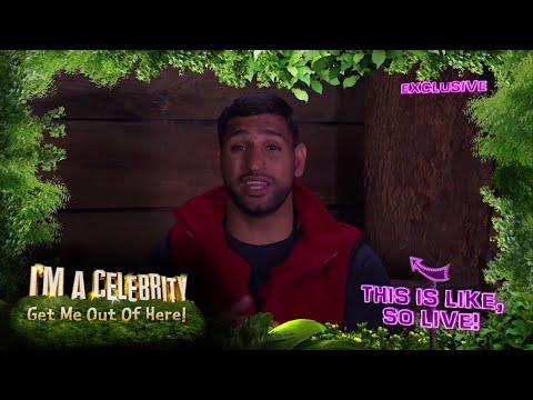 Amir Khan Talks Jungle Life On The Bush Telegraph | I'm A Celebrity... Extra Camp