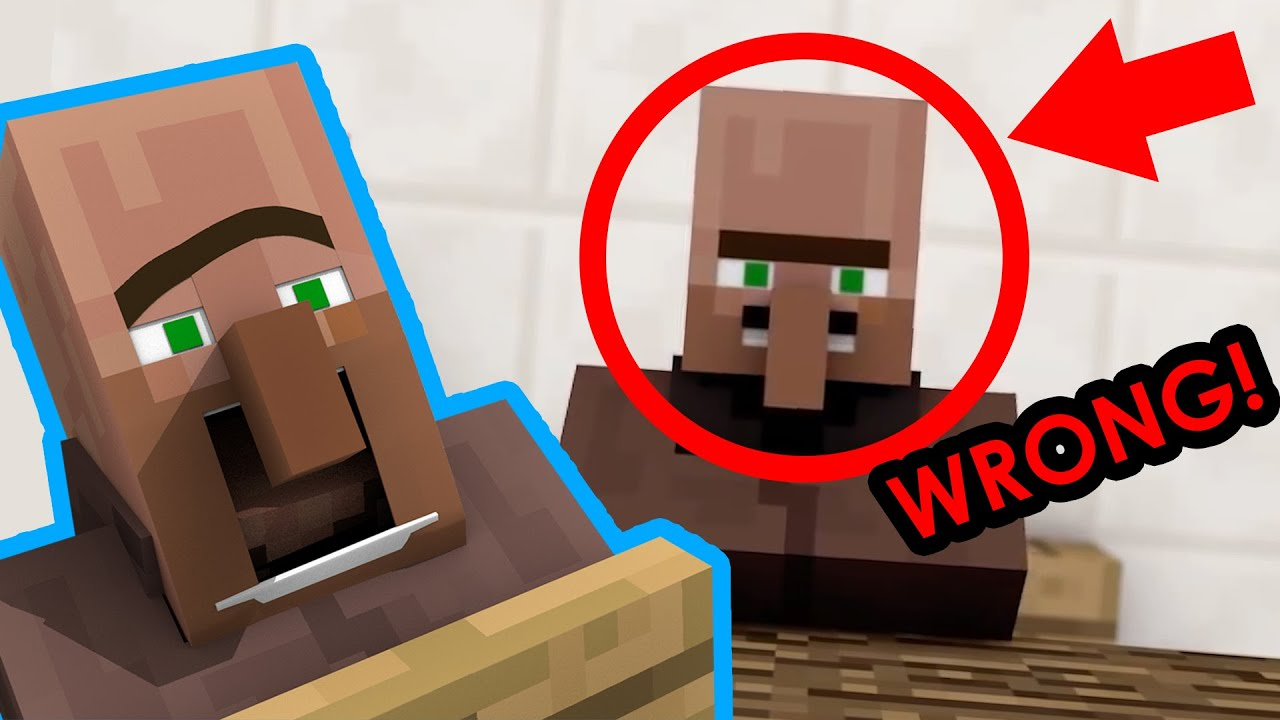 Everything WRONG with our videos: VILLAGER NEWS!