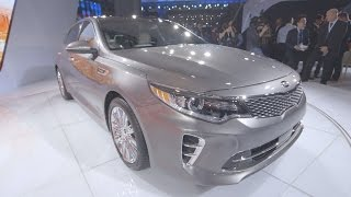 NY Auto Show: Hands-On With Kia's New, Sportier Optima