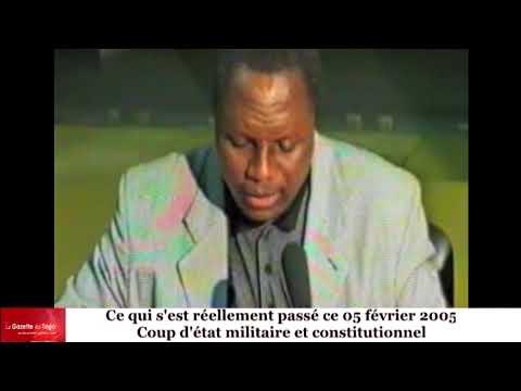 Coup de force constitutionnelle du 5 février 2005 : Les acteurs et l'allégeance à Faure GNASSINGBE