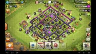 Clash of Clans 1# Mein Dorf ,Meine Taktik & meine Hod Let´s Play Clash of Clans