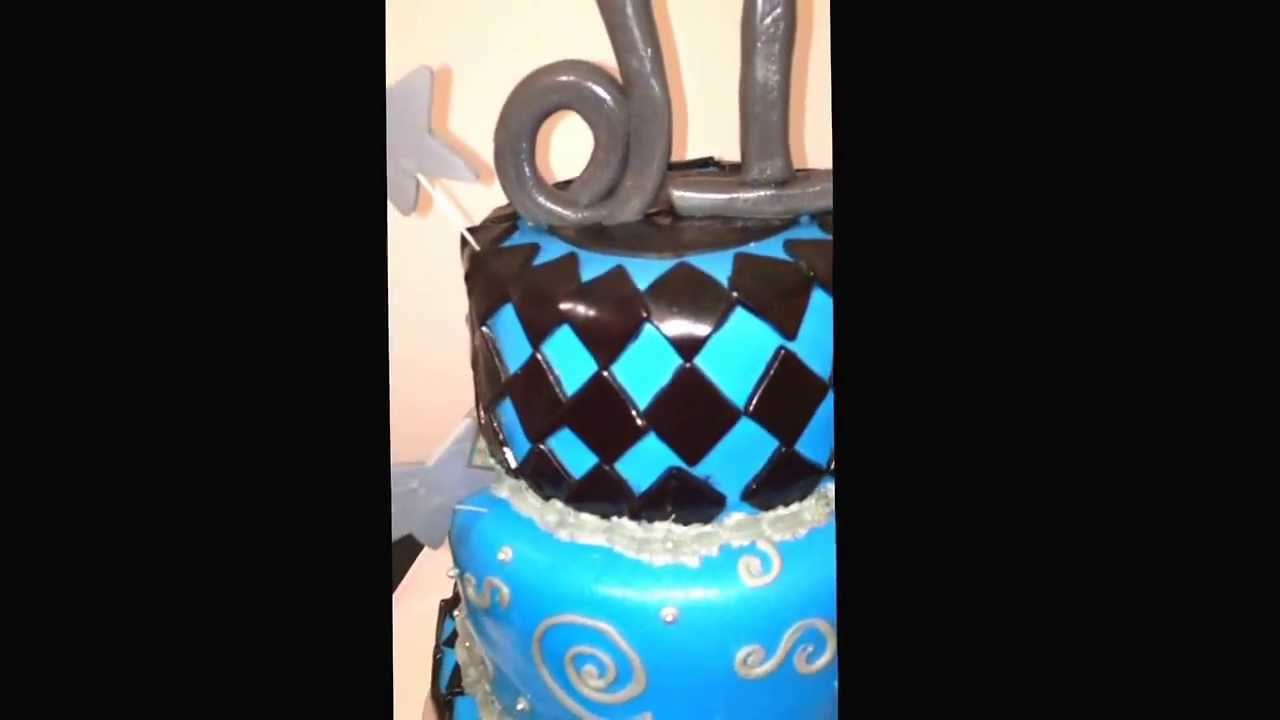 A Sweet 16 Birthday Cake Made By Thecakebossofchester