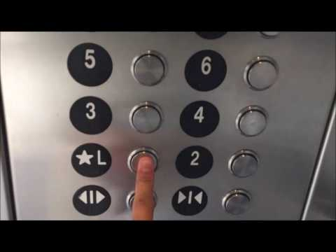 Thyssenkrupp Traction Elevator at Honolulu Int'l Airport Parking A