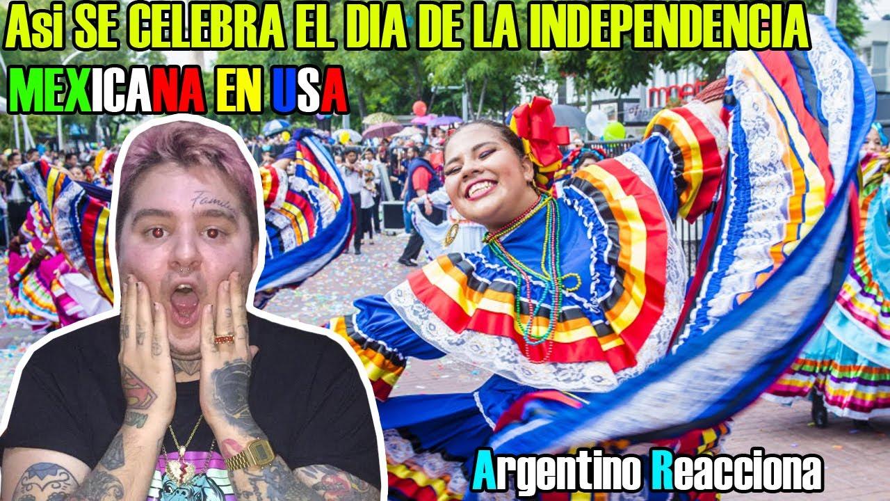 ASI SE CELEBRA EL DIA DE LA INDEPENDENCIA MEXICANA EN ESTADOS UNIDOS - Argentino Reacciona