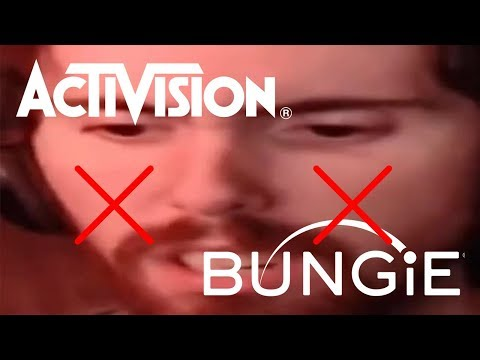 ASMONGOLD REACTS TO BUNGIE AND ACTIVISION PARTING WAYS
