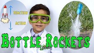 Bottle Rocket Science - Easy Kid science experiment | Newton
