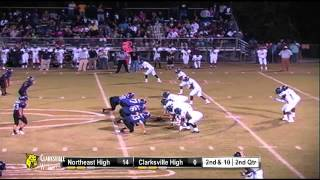 Football- Clarksville High vs. Northeast High