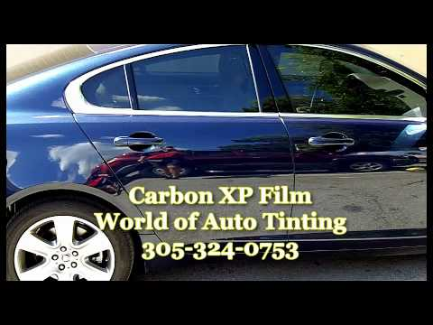 Miami Auto Tinting Carbon Xp Film Youtube