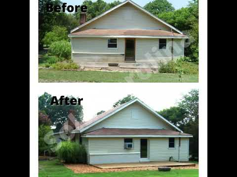 Before & After Pictures-- 508 8th St. Spencer NC