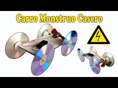 Como Hacer un Coche Eléctrico Aerodeslizado Casero (Muy Fácil )