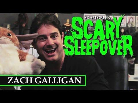Adam Green's SCARY SLEEPOVER  Episode 10: Zach Galligan