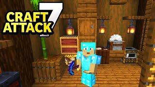 Trymacs Craft Attack Haus fertig bauen! - Minecraft Craft Attack 7 #20