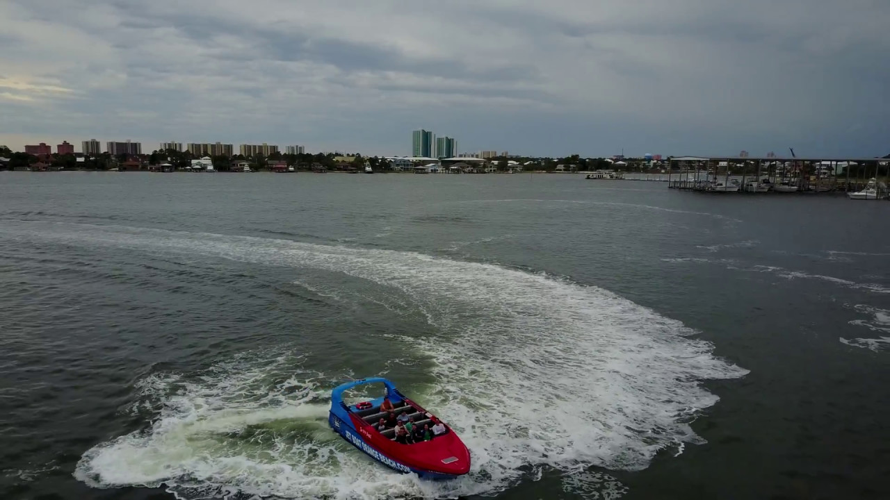 Jet Boat Thrill Ride Orange Beach Alabama