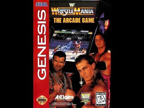 Sega Genesis / Mega Drive-Longplay-WWF Wrestlemania Arcade (U)
