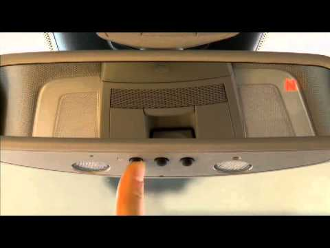 Demonstration to program your garage door opener for for Mercedes benz euro motorcars germantown