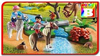 Playmobil Country 6947. Copii calaresc pe poney.  Merry ride. Bogdan`s Show