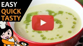 Asparagus cream soup - Recipe Videos