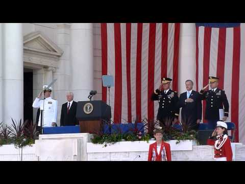 Memorial Day 2011 President Obama Hail to the Chief