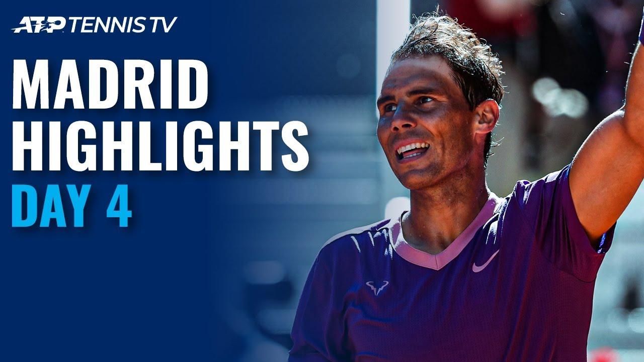 Download Nadal vs Alcaraz; Medvedev, Tsitsipas, Zverev in Action | Madrid 2021 Day 4 Highlights