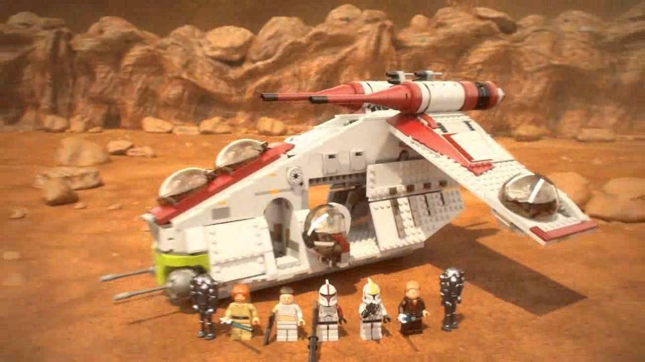 Лего звёздные войны республика