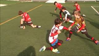 Rugby Ecole du RCT M8 Training Physical Perform Live TV Sports Saison 2018/2019
