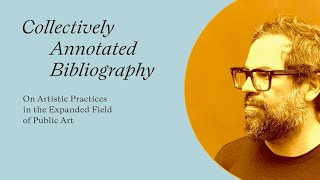 "Pedro Reyes - Video Statement for ""Collectively Annotated Bibliography"""