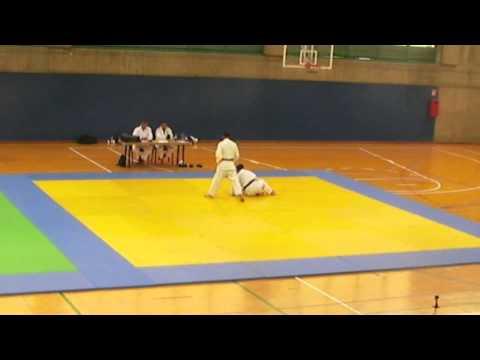 Jesús Garriga Examen 3 Dan Judo. Renraku Henka Waza