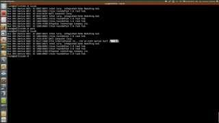 Tutorial how to use adapter usb serial cable Ubuntu 14 04