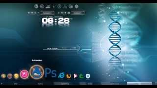 windows 7 new look 2013 with advenced 3D FX effects