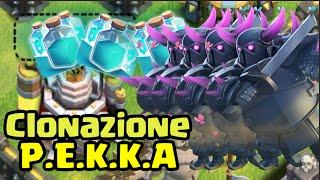 Clonazione: P.E.K.K.A. in Lega Titano |Clash of Clans Kai ITA