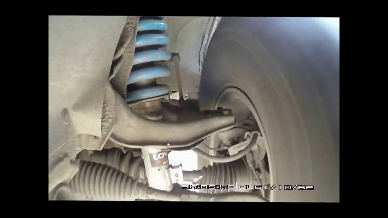 Lovells Suspension Front On Pajero Sport New Youtube