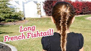 French Fishtail Braid | Long Hair | Cute Girls Hairstyles thumbnail