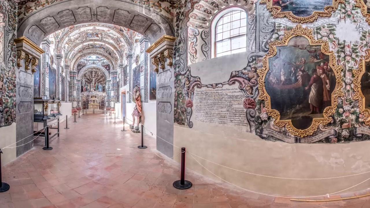 interior del santuario de Jesús nazareno