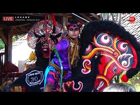 Kuda Kepang Kembar 6 Ndadi Turun Panggung - New WIJOYO PUTRO Live LOGAWE 2019