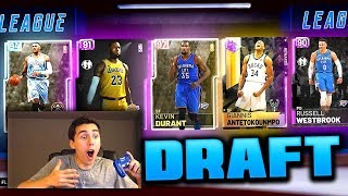 NEW DRAFT GAME MODE! NBA 2K19 DRAFT