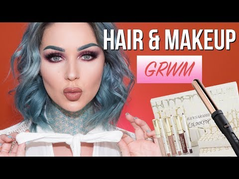 GRWM Hair & Makeup: iluvsarahii x Colourpop Collection | KristenLeanneStyle