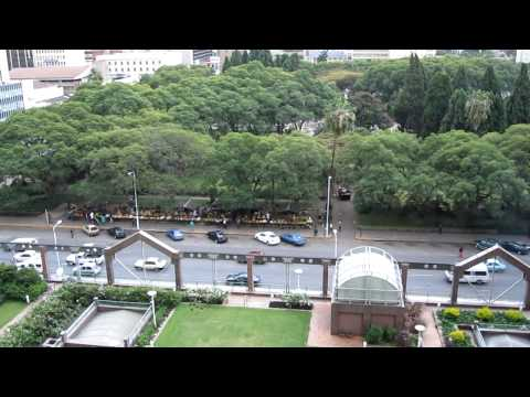 View of Harare, Zimbabwe