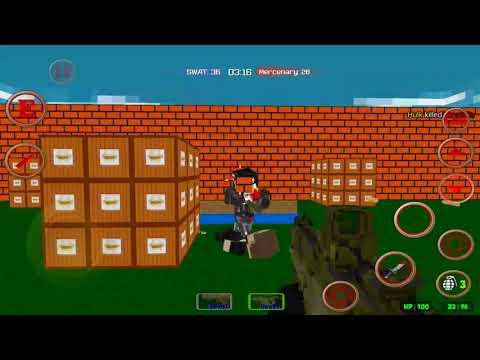 Blocky Gun Combat SWAT Survival Mobile PlayTrough