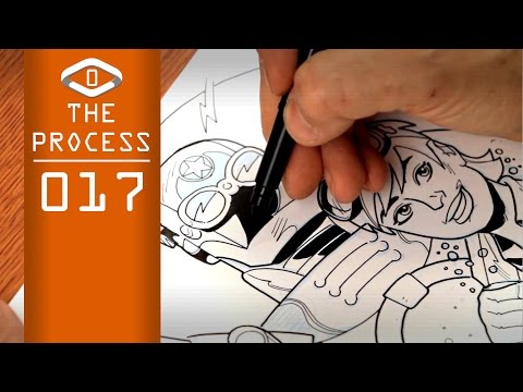 THE PROCESS: Ink Style #02 Deadline (narrated)
