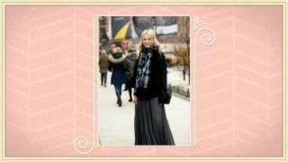 видео С Чем Носить Длинное Платье: Фото и Видео Советы